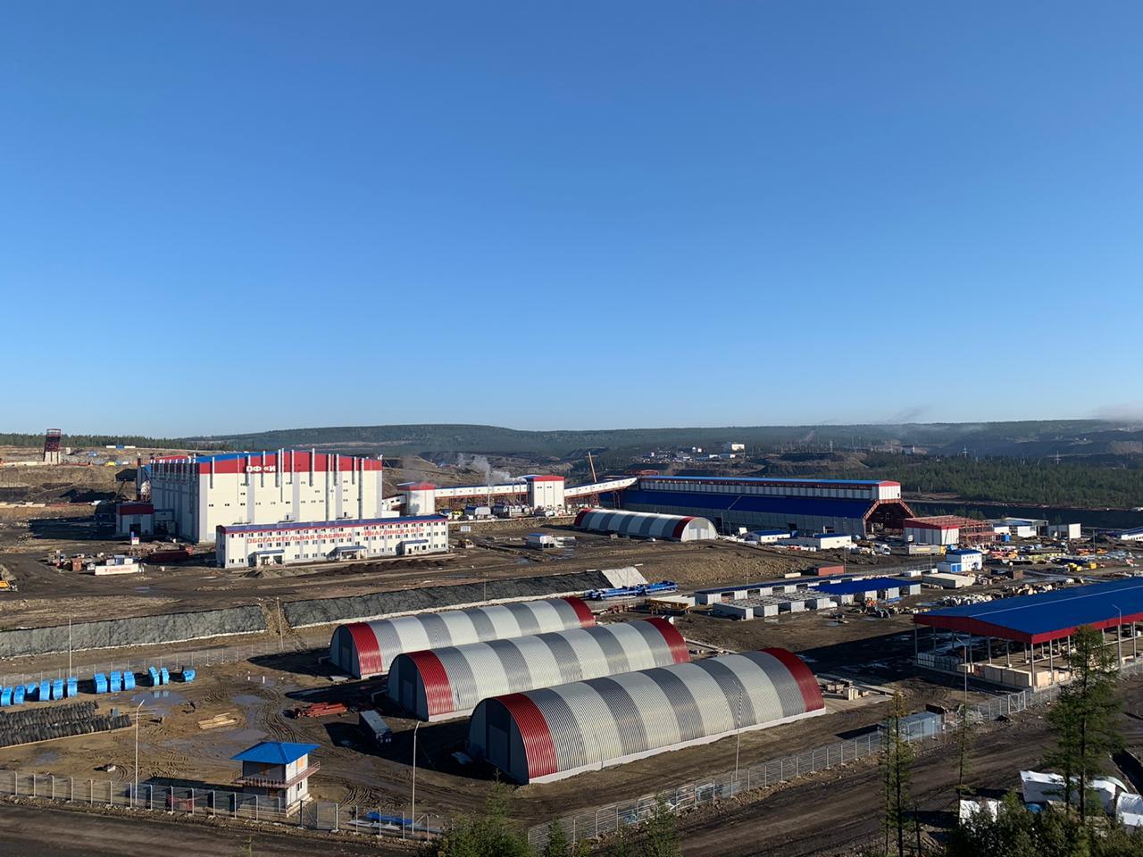 """Первую очередь крупнейшей шахты по добыче угля """"Инаглинский-2"""" запустят в Якутии в сентябре"""