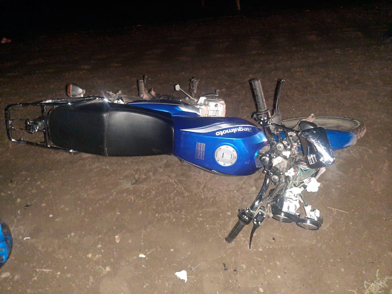 В Таттинском районе Якутии несовершеннолетний мотоциклист сбил насмерть пешехода