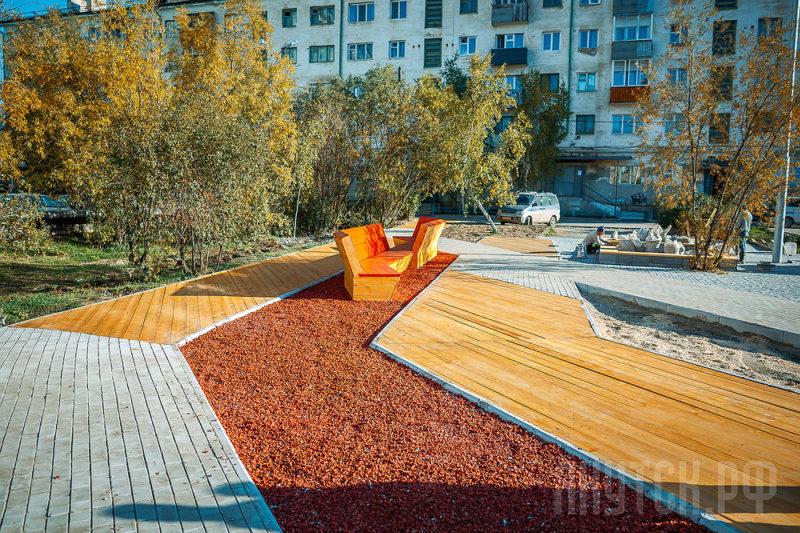В Якутске выберут лучший благоустроенный двор