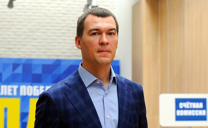 Сергея Фургала отправили в отставку с поста главы Хабаровского края. Врио назначен Михаил Дегтярев