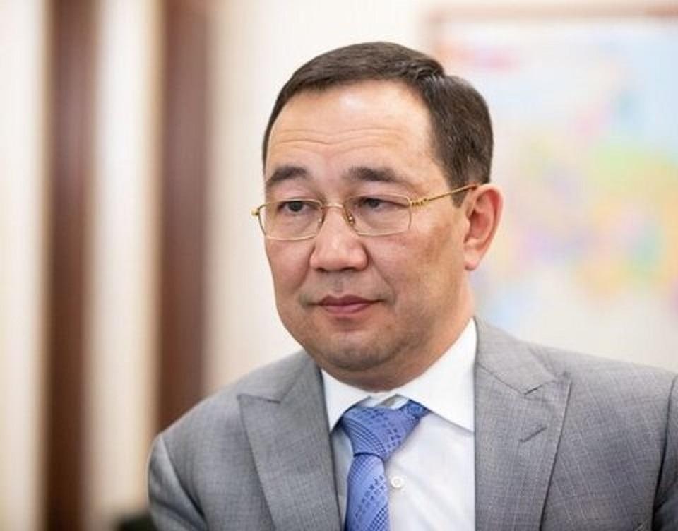 Айсен Николаев провёл рабочую встречу с руководителем авиакомпании «Аврора»